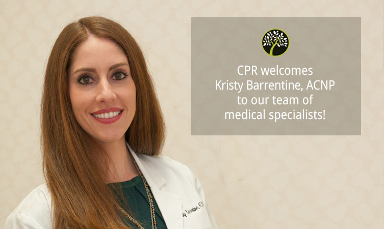 CPR welcomes Kristy Barrentine